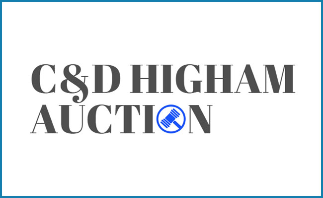C&D Higham Auction House Logo